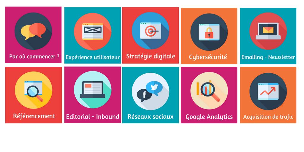 Bannière expertises Adopte Une Stratégie Web Rennes Ouest Online French Tech