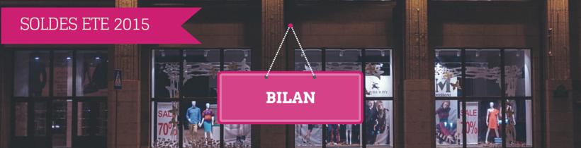 Bilan soldes 2015