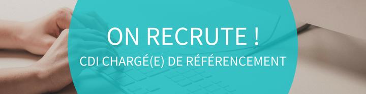 Recrute offre emploi chargé référencement naturel SEO Rennes Web webmarketing