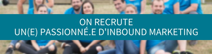 Offre d'emploi Rennes webmarketing inbound marketing