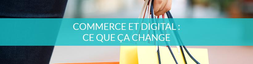 Le digital dans les commerces