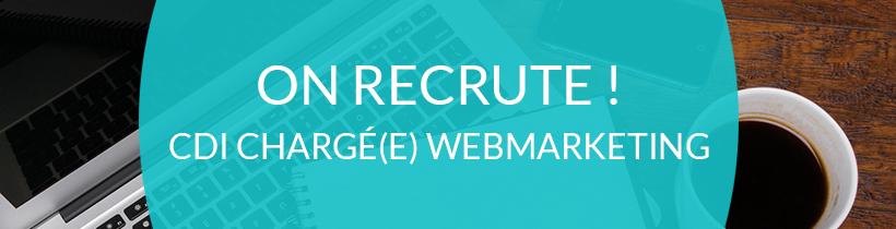 Ouest Online recrute un(e) chargé(e) de Webmarketing