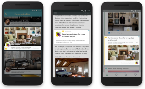 Le display responsive de Google