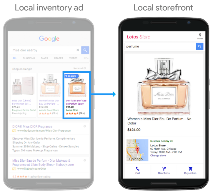 shopping local inventory ads
