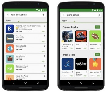 Annonces Google Play