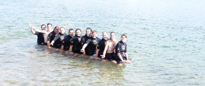 Teambuilding paddle