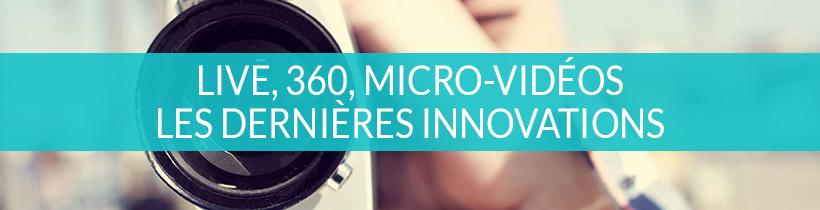 Webmarketing et vidéo : Les dernières innovations